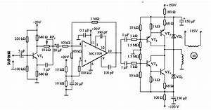 The Control Circuit Of Two-phase Servo Motor