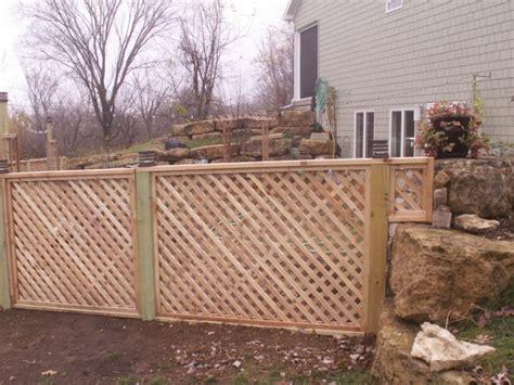 build wood dog ramp lattice fence plans  bean bag