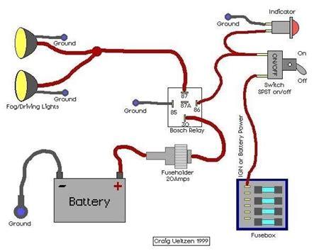 Pin Bosch Relay Wiring Diagram