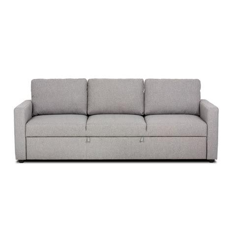 canap 233 convertible 3 places gris chin 233 gris tino meuble