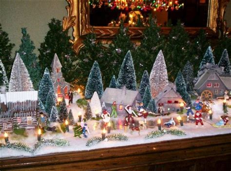 christmas village putzes  train layouts submitted