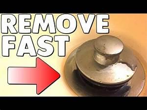 How To Remove A Pop Up Bathtub Drain Plug Stopper No
