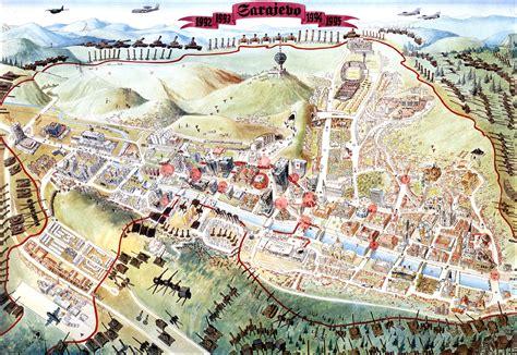 siege sarajevo sarajevo survival map 1992 96 önder çetin