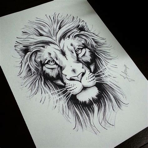 ideas  lion tattoo design  pinterest lion