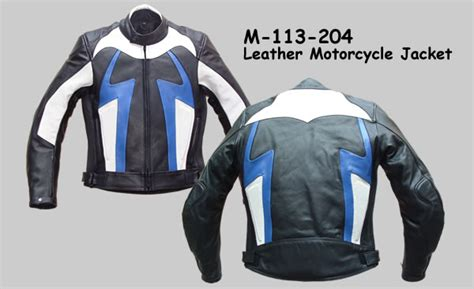 Buy Pakistani Leather Motorcycle Jacket Online From
