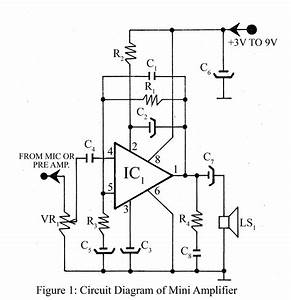 mini amplifier electronics project With small ic amplifiers for speakers