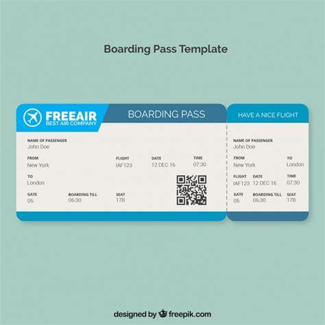 free boarding pass template microsoft word boarding pass vorlage mit blauen formen der kostenlosen vektor