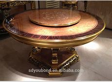 0061 Italian Classic Round Hand Carved Dining Table With