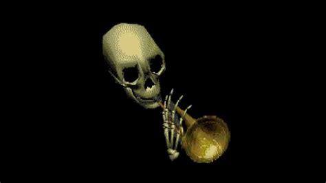 skull trumpet instant sound effect button myinstants