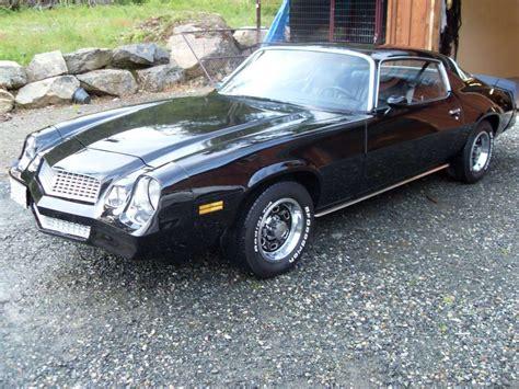 1980 Camaro Z28 Black