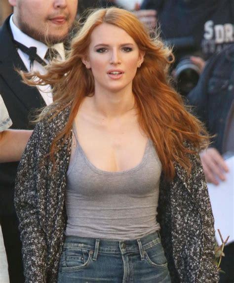 Bella Thorne In Jeans Arriving At Jimmy Kimmel Live