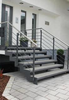 Außentreppe In Stahl Und Stein Treppen