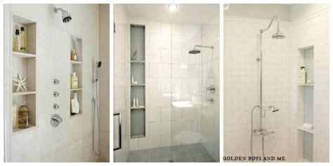 Shower Niche Height - designing the shower niche diy decorator
