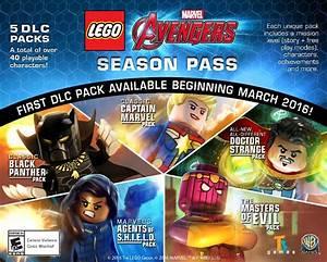 Lego Marvel39s Avengers First Season Pass DLC Detailed