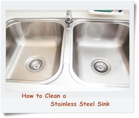clean stainless steel kitchen sink how to clean a stainless steel kitchen sink food corner