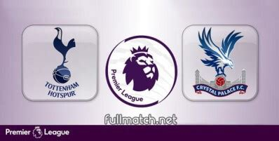 Tottenham Hotspur vs Crystal Palace Full Match Highlights