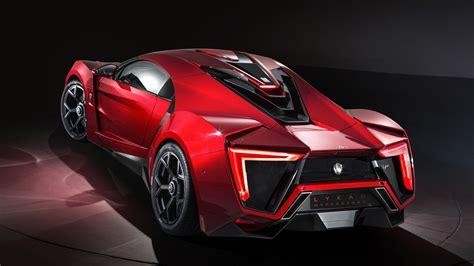 wallpaper lykan hypersport rear view supercar