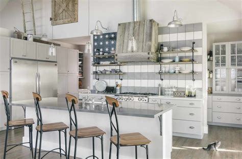 farmhouse industrial kitchen   butlers pantry