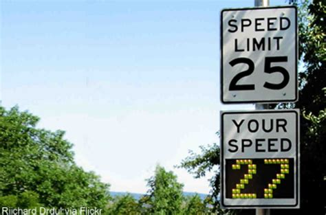 Radar Speed Signs, Machine Monitoring, And Chilling