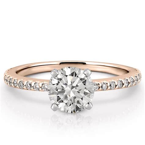 engagement rings for dainty engagement ring petite diana engagement ring do amore