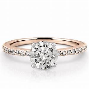 Dainty engagement ring petite diana engagement ring do for Wedding band under engagement ring
