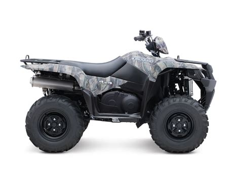 Suzuki Kingquad by 2014 Suzuki Kingquad 500axi Camo Review Top Speed