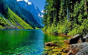 Home » Nature »Beautiful Landscape Mountain River HD ...