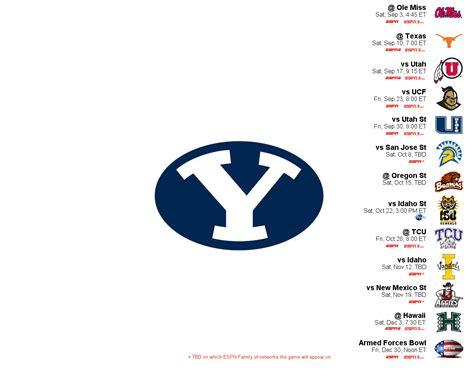 2011 Byu Football Schedule Wallpaper (byufam1