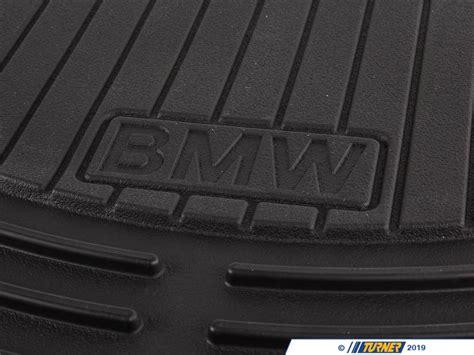genuine bmw front rubber floor mat set