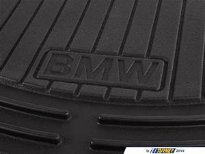 82550302997 - Genuine Bmw Front Rubber Floor Mat Set - Black