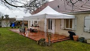 Eclairage Terrasse Bois : terrasse bois avec eclairage ~ Melissatoandfro.com Idées de Décoration