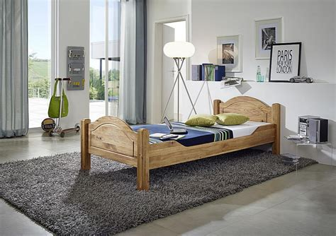 Bett 180x200 Doppelbett Eiche Lisa Wildeiche Massiv Geölt