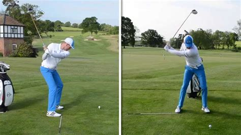 basic golf swing simple golf swing rotation drill for consistency