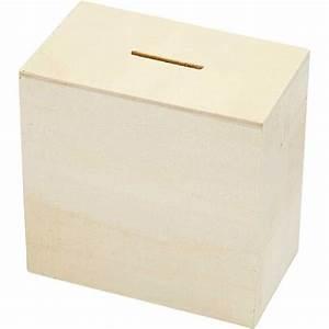Spardose Aus Holz : schlichte quadratische spardose sparb chse aus holz unbehandelt basteln mit kindern ~ Sanjose-hotels-ca.com Haus und Dekorationen