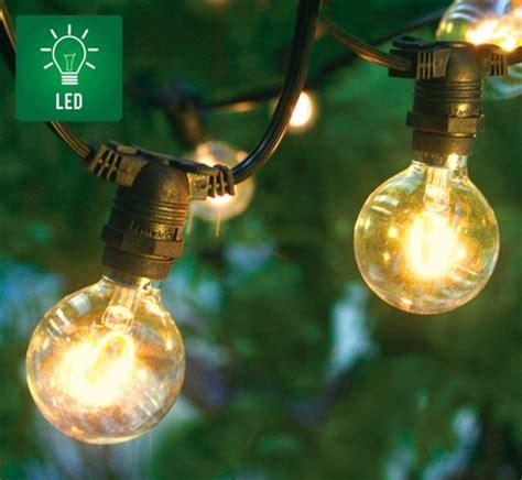 commercial outdoor led string lights 25 socket outdoor commercial string light set led