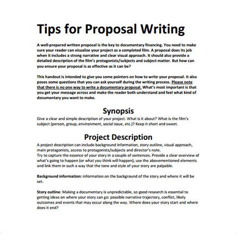 make a bid writing template 21 free word excel pdf