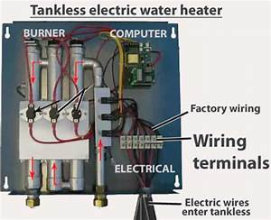Rheem Tankless Electric Water Heater Wiring Diagram
