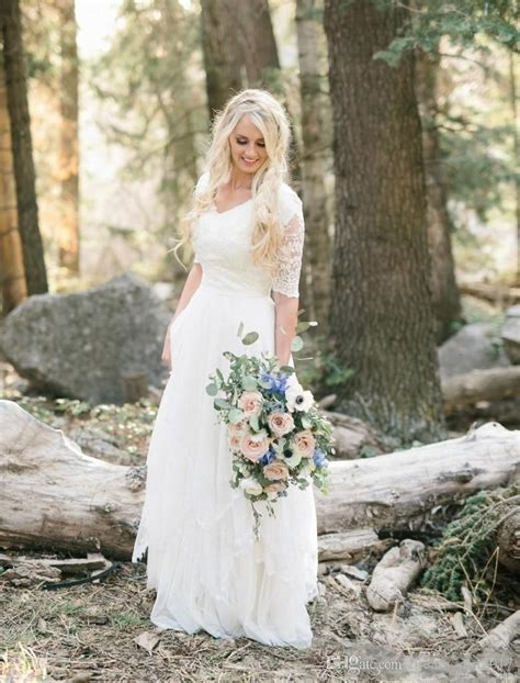 discount  western country bohemian forest wedding
