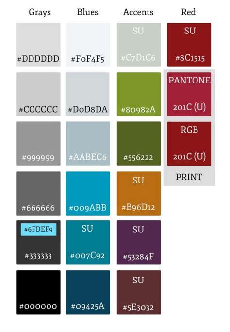 stanford school colors color palette identity stanford medicine