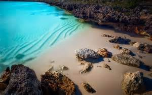 Nature, Landscape, Beach, Sand, Rock, Turquoise, Water, Sea, Wallpapers, Hd, Desktop, And, Mobile