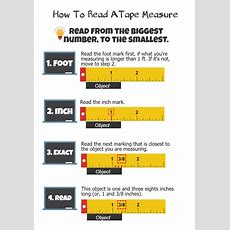 How To Read A Tape Measure 4 Steps (with Pictures