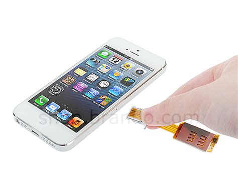 sim card for iphone 5 dual sim card for iphone 5 5s with back