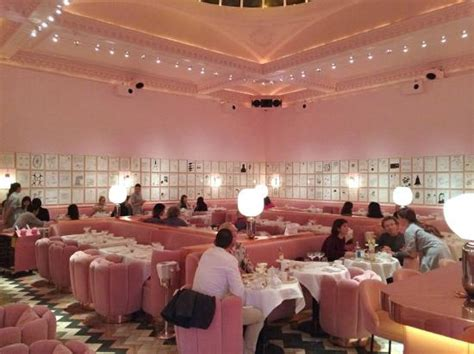 gem cuisine the pink dining room picture of sketch parlour