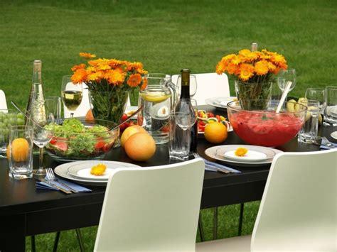 Fantastische Tischdeko Für Gartenparty