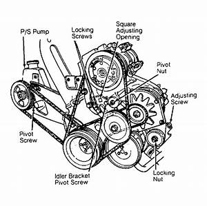 1990 Chrysler New Yorker Serpentine Belt Routing And