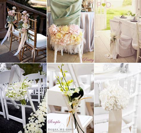 wedding chair decoration ideas decoration
