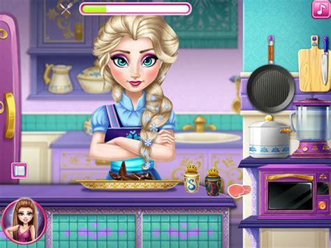 jouer au jeu de cuisine jouer à elsa fait la cuisine jeux gratuits en ligne avec