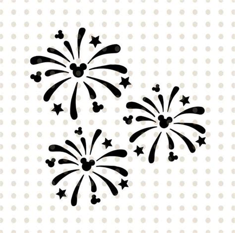 The image can be resized up and down and filled in the files are designed to use in silhouette studio, cricut design space, sure cuts a lot (scal) and other popular cutting software that accept these. Mickey Mouse Head SVG Fireworks, Disney fireworks PNG and ...