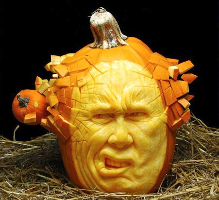 pumpking carvings scary halloween pumpkin carvings