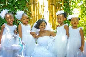 African American Flower Girl Wedding Hairstyles 2018
